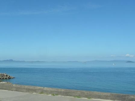 車窓から 瀬戸内海 2