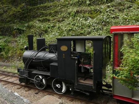 観光用鉱山鉄道 1
