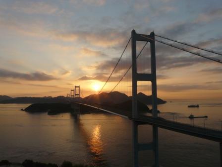 朝の来島海峡 3