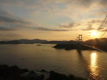 朝の来島海峡 6