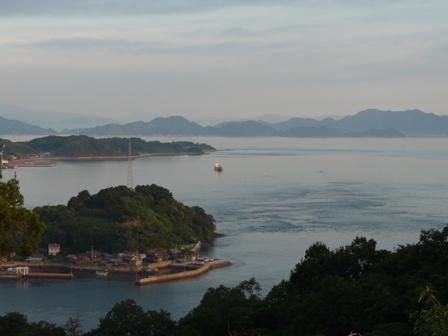 朝の来島海峡 7