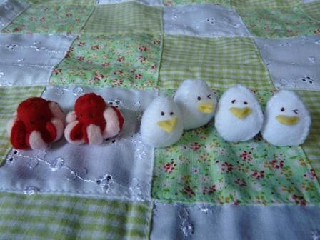中華ランチ たこさんウインナー & うずら卵