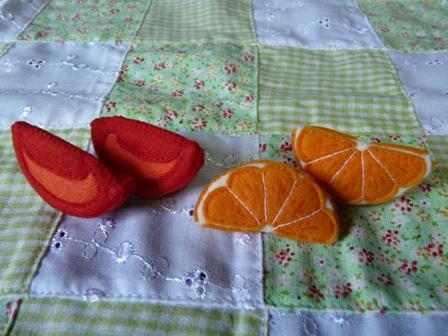 中華ランチ カットトマト & オレンジ