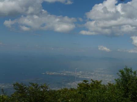 翠波峰広場からの眺望