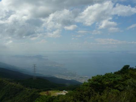 翠波西峰展望台からの眺望 2