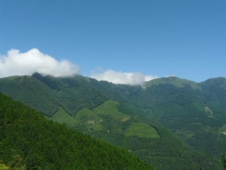 瓶ヶ森林道からの眺望 1