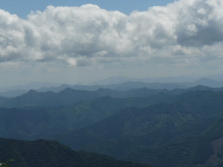 瓶ヶ森林道からの眺望 5