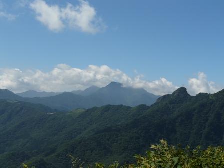 瓶ヶ森林道からの眺望 6