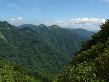 瓶ヶ森林道からの眺望 7