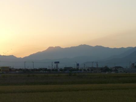 田園の朝景 1
