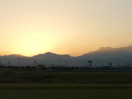 田園の朝景 2