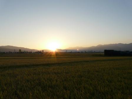 田園の朝景 3