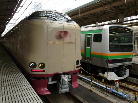 サンライズ瀬戸 235系 & E231系