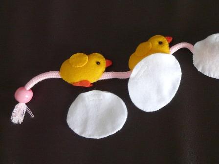 引っぱるおもちゃ ニワトリさん 3