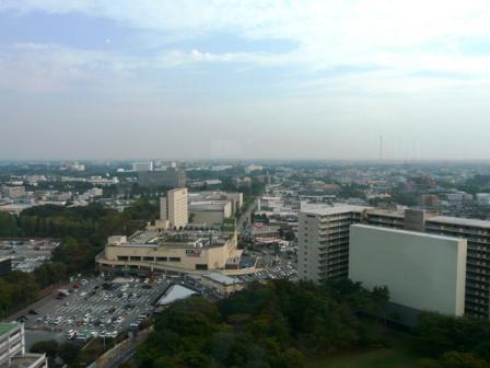 つくば三井ビルからの眺望 1