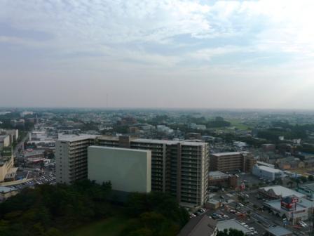つくば三井ビルからの眺望 2