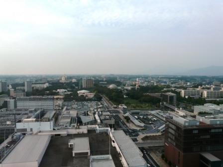 つくば三井ビルからの眺望 3