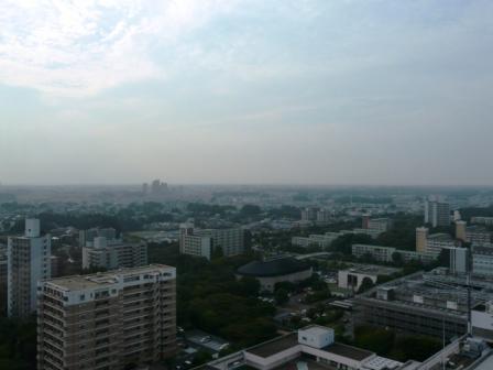 つくば三井ビルからの眺望 4