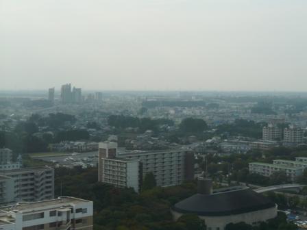 つくば三井ビルからの眺望 5