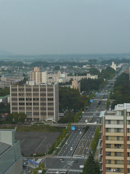 つくば三井ビルからの眺望 7