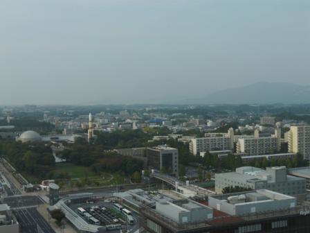つくば三井ビルからの眺望 8