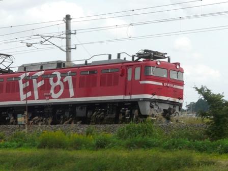 貨物列車 EF81-95 安中貨物 1