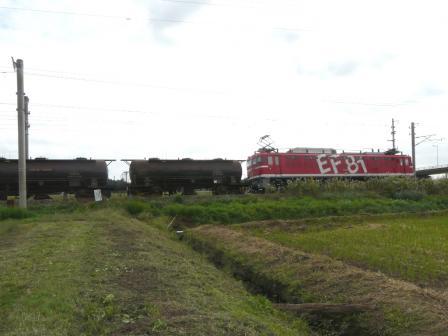 貨物列車 EF81-95 安中貨物 2