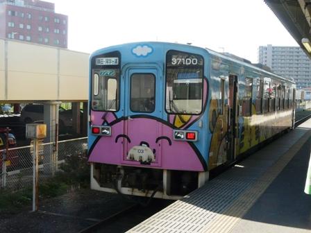 ひたちなか海浜鉄道 キハ37100-03 勝田駅