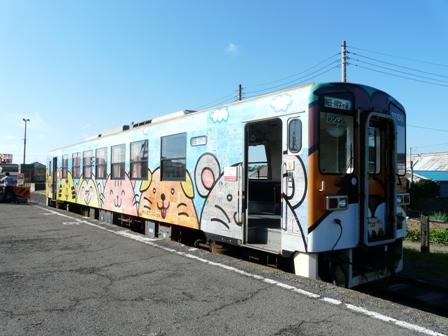 ひたちなか海浜鉄道 キハ37100-03 阿字ヶ浦駅