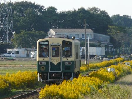 ひたちなか海浜鉄道 キハ3710-02 中根駅 1