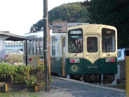 ひたちなか海浜鉄道 キハ3710-02 中根駅 2