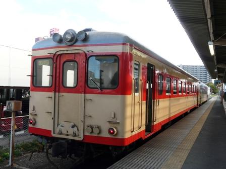 ひたちなか海浜鉄道 キハ2005&キハ37100-03 勝田駅