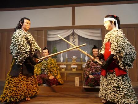 笠間稲荷神社 菊人形 1