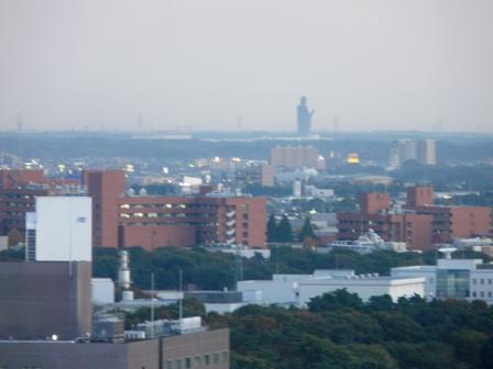 つくば三井ビルからの眺め 夕景 4