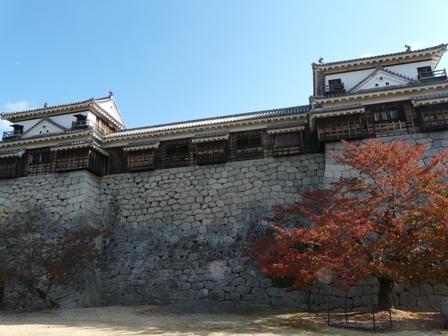 松山城 紅葉 10
