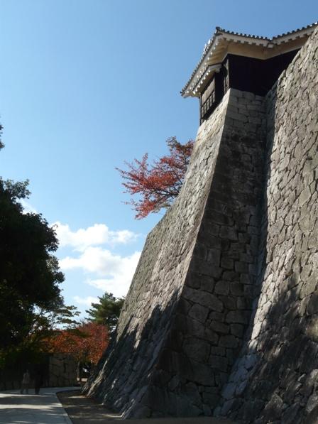 松山城 紅葉 1