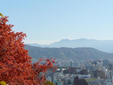 松山総合公園から 2