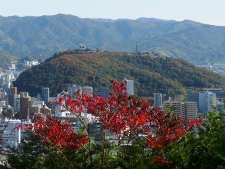 松山総合公園から 3
