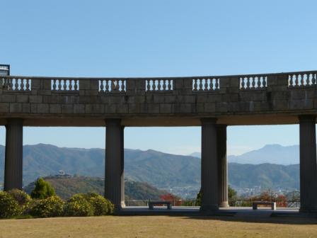 松山総合公園から 5