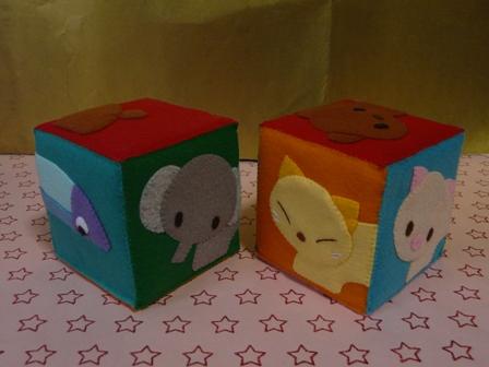 絵合わせブロック (2個組) 1