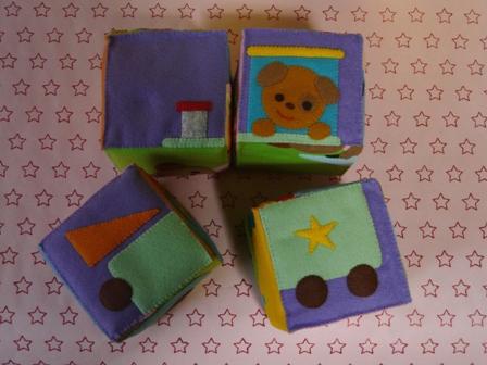 絵合わせブロック (4個組) 6