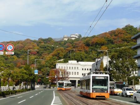 松山城 & 路面電車 3