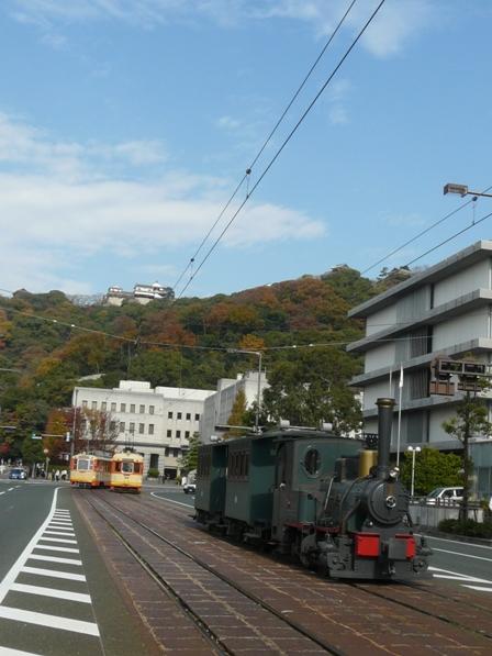 松山城 & 坊っちゃん列車 2