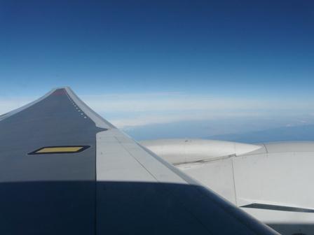 飛行機から 1