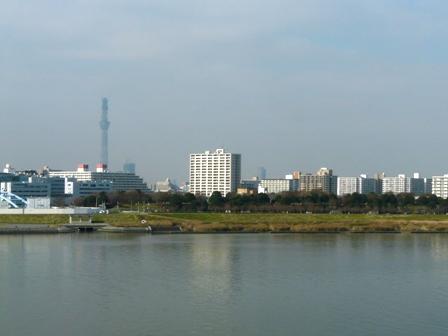 高速バスから 東京スカイツリー 2