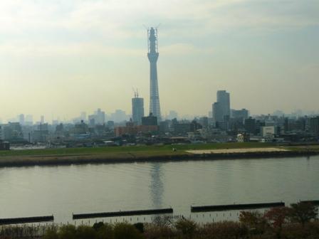 高速バスから 東京スカイツリー 3