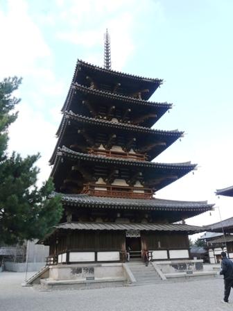 法隆寺 五重塔 1