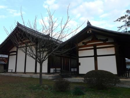 法隆寺 食堂