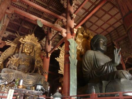 東大寺 盧舎那仏像・虚空蔵菩薩像