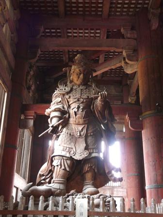 東大寺 広目天像